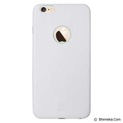 BASEUS Thin Case for Apple iPhone 6 Plus [EHAPIPH6P-02] - White - Casing Handphone / Case